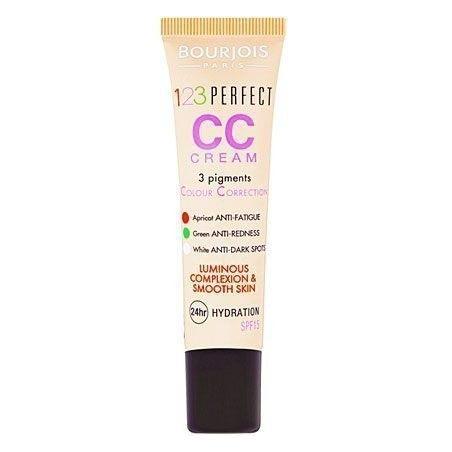 Bourjois CC Cream 123 Perfect, wygładzający cerę i rozświetlający krem ujędrniający 30ml