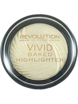 Makeup Revolution VIVID Baked Highlighter Golden Lights, rozświetlasz do twarzy 7,5g