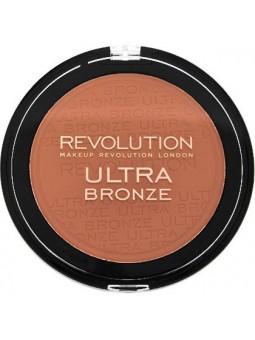 Makeup Revolution Ultra Bronze 15g, bronzer z efektem delikatnej opalenizny