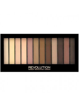 Makeup Revolution Redemption Palette Essential Mattes 2, brązowe cienie matowe