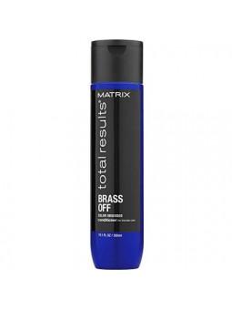 Matrix Brass Off odżywka do włosów z niebieskim pigmentem chroniąca kolor 300ml