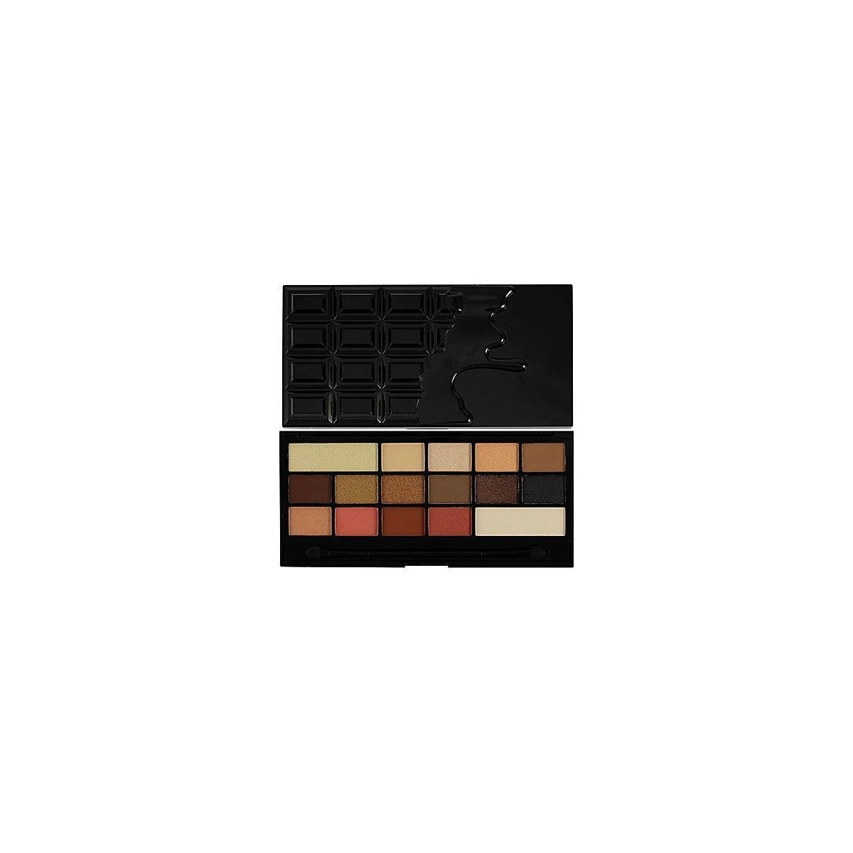 Makeup Revolution 16 Eyeshadows I Love Makeup Chocolate Vice, czekoladowa paleta 22g