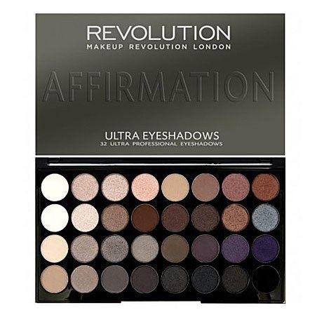 Makeup Revolution 32 Ultra Eyeshadows Affirmation, rewolucyjne cienie do powiek