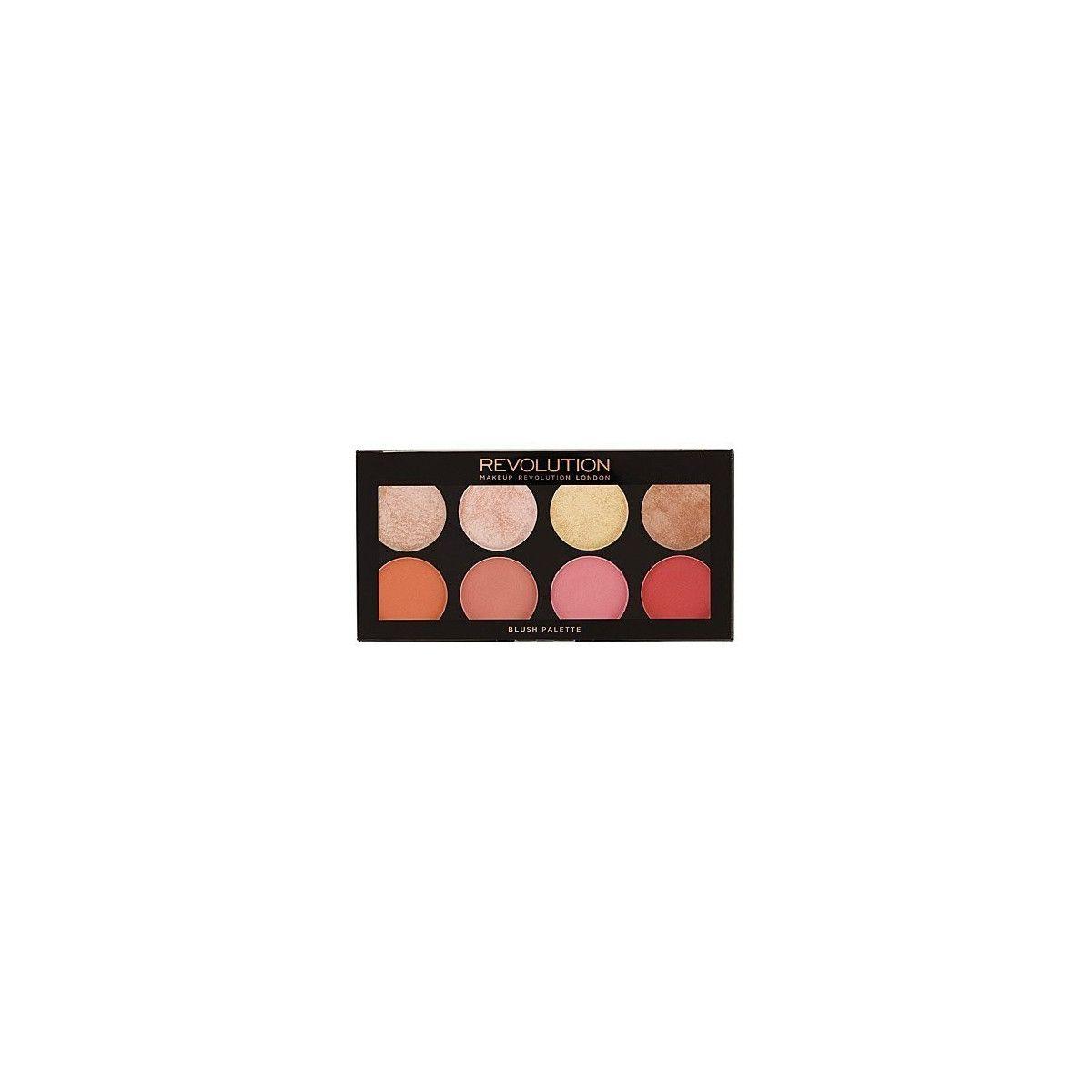 Makeup Revolution Palette Blush Goddess, rewelacyjna paleta róży i rozświetlaczy do policzków