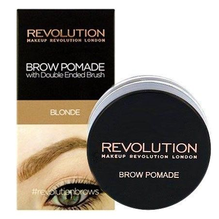 Makeup Revolution Brow Pomade Blonde, blond pomada do brwi 2.5g