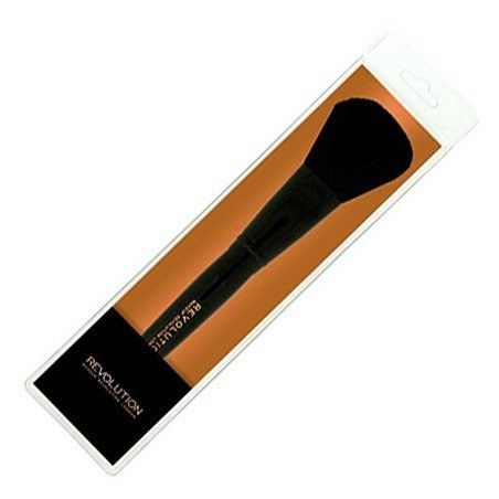 Makeup Revolution Powder Brush PRO F104 pędzel do aplikacji pudru z syntetycznym włosiem