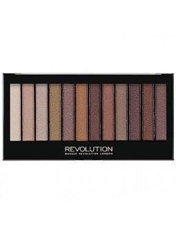 Makeup Revolution Redemption Palette Essential Shimmers, paleta cieni do powiek 14g