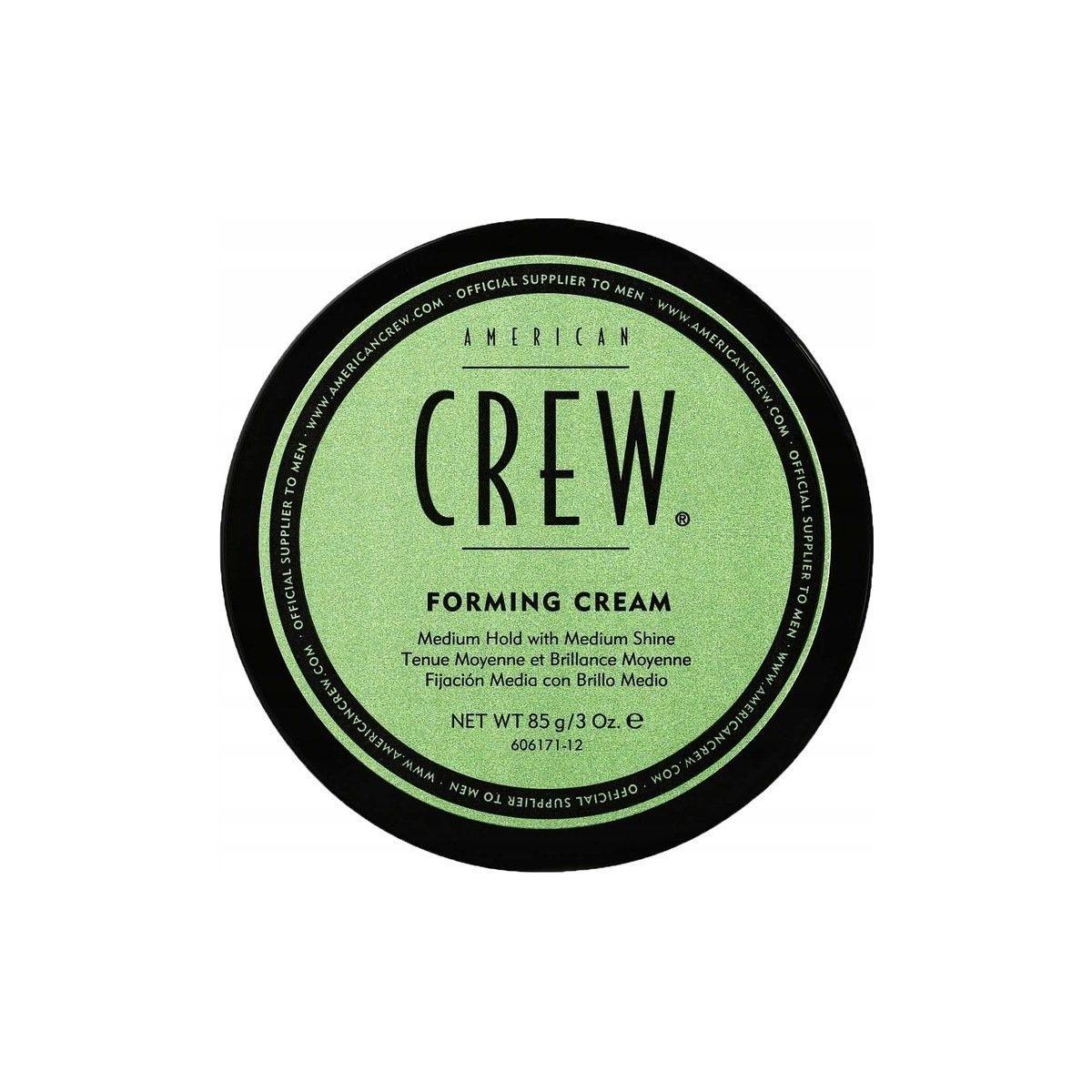 American Crew Forming Cream, krem średnio mocno utrwalający z efektem połysku do włosów 85g