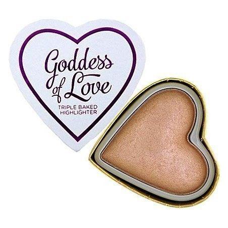 Makeup Revolution I Heart Makeup Goddess Of Love, highlighter wypiekany rozświetlacz 10g