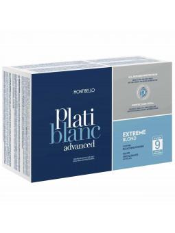 Montibello uzupełnienie Platiblanc Advanced Extreme Blond Level 9 saszetki 2x500g