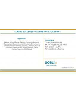 skład pudru w spray Loreal Volumetry Volume Inflator większa objętość