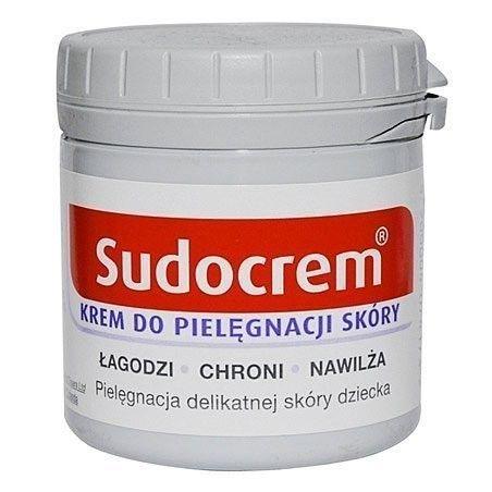 Sudocrem, krem do pielęgnacji skóry dziecka, łagodzi, chroni i nawilża 250g