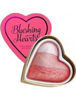 Makeup Revolution Bursting With Love I Love Makeup, blusher rozświetlacz 10g