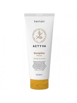 Kemon ACTYVA Disciplina, maska wygładzająca do puszących się włosów 200ml