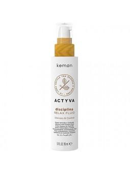 Kemon ACTYVA Disciplina, relax fluid wygładzający włosy 150ml