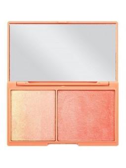Peach And Glow I Heart Makeup highlight & illuminator duo
