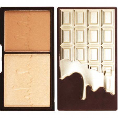 Makeup Revolution Bronze And Glow, bronzer i rozświetlacz duo powder 11g