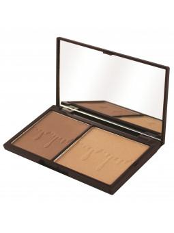 Makeup Revolution Bronze And Glow paletka do konturowania twarzy