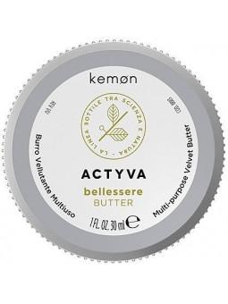 Kemon ACTYVA Bellessere, aksamitne masło do ciała z shea i aloesem 30ml