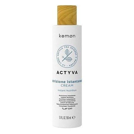 Kemon ACTYVA Nutrizione, krem nawilżający do włosów bez spłukiwania 150ml