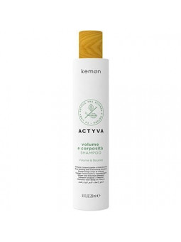 Kemon ACTYVA Volume E Corposita, szampon dodający objętość 250ml