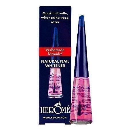 Herome Natural Nail Whitener, preparat wybielający płytkę paznokcia 10ml