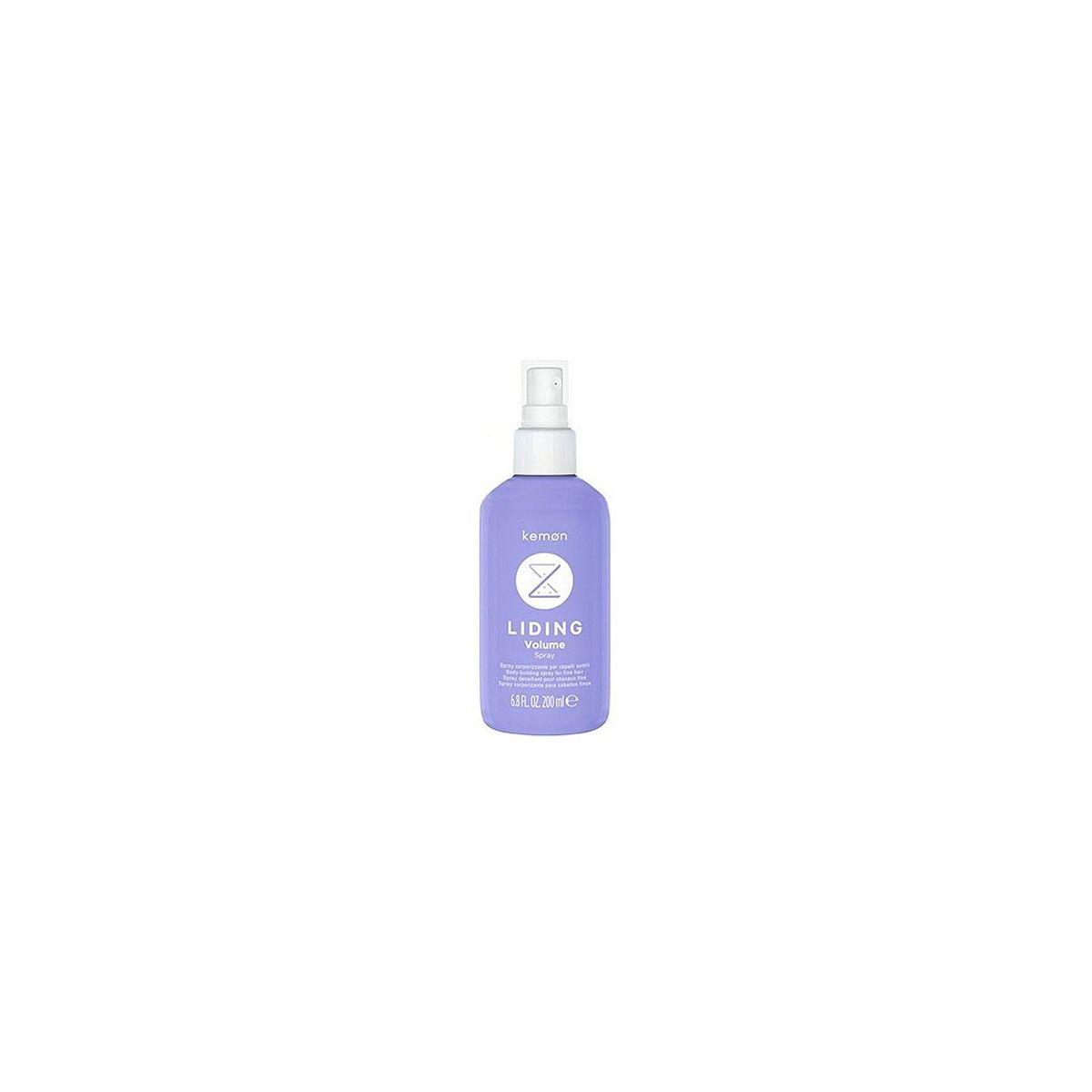 Kemon Liding Volume, spray zagęszczający cienkie i trudne włosy 200ml