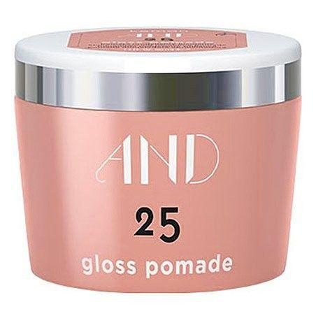 Kemon AND Gloss Pomade 25, nabłyszcza i nadaje efekt mokrych włosów 50ml