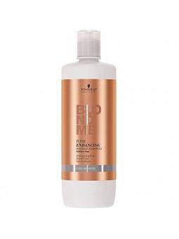 Schwarzkopf BlondMe Tone Enhancing, szampon bez siarczanów zimne blondy 1000ml