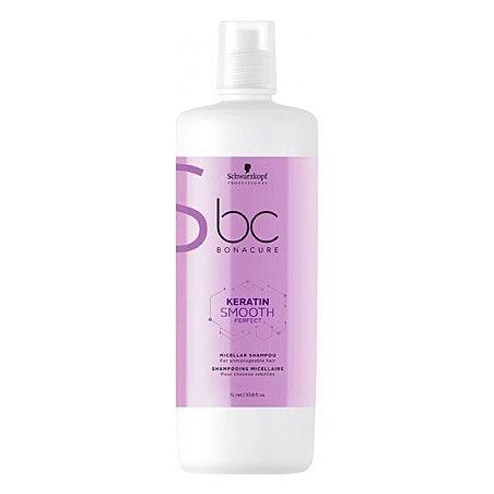 Schwarzkopf BC Keratin Smooth Perfect, szampon oczyszcza i ujarzmia włosy 1000ml