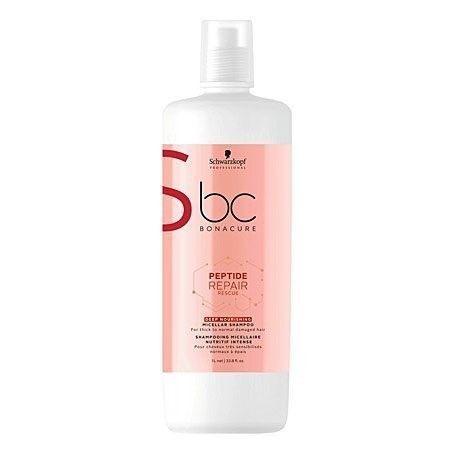 Schwarzkopf BC Repair Peptide Rescue Deep Nourishing szampon 1000ml