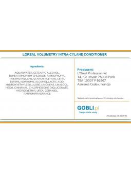 składniki odżywki Loreal Volumetry, nie obciąża i dodaje gęstości