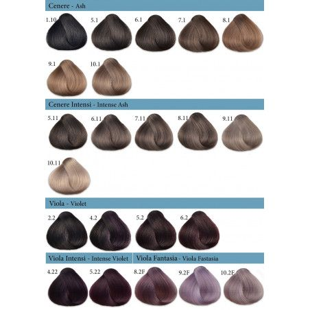 Paleta kolorów Fanola Crema Colore