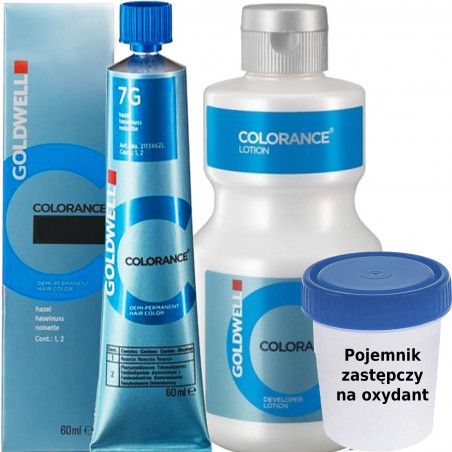 Goldwell Colorance zestaw do koloryzacji farba 60 ml + oxydant 120ml