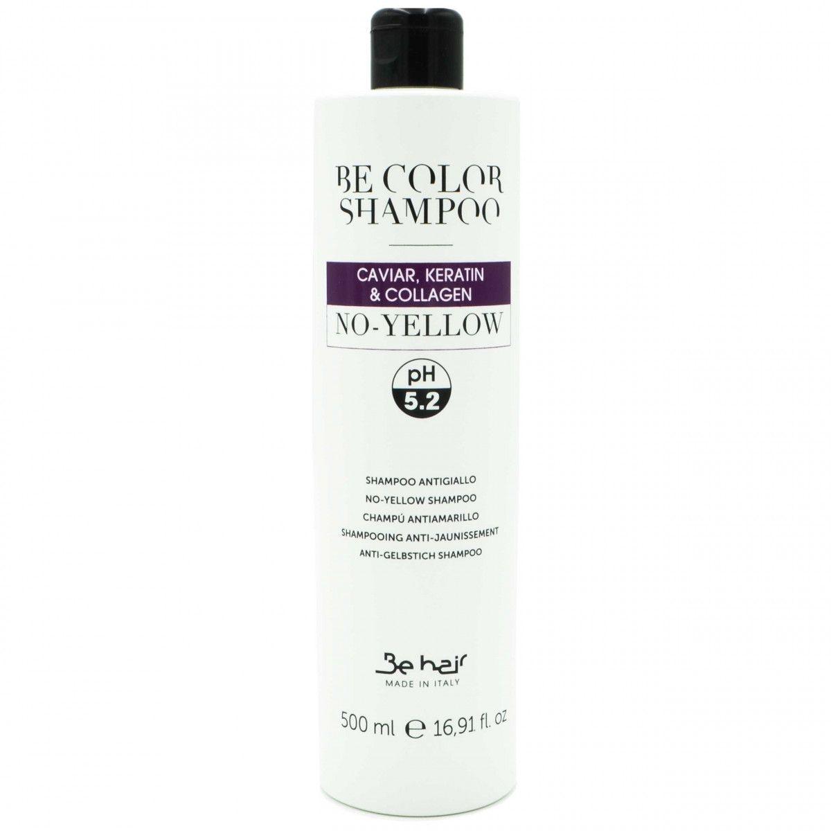 Be Hair BE COLOR NO YELLOW szampon neutralizujący żółte odcienie 500ml