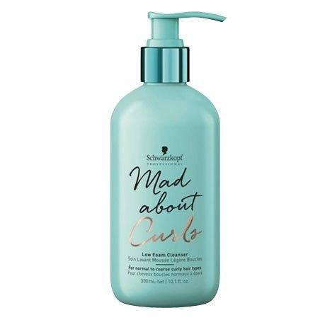 Schwarzkopf Mad About Curls Low Foam Cleanser szampon w piance do włosów kręconych, grubych 300ml