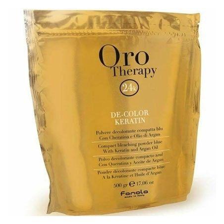 Fanola Oro Teraphy De-Color Keratin rozjaśniacz do włosów z keratyną 500g