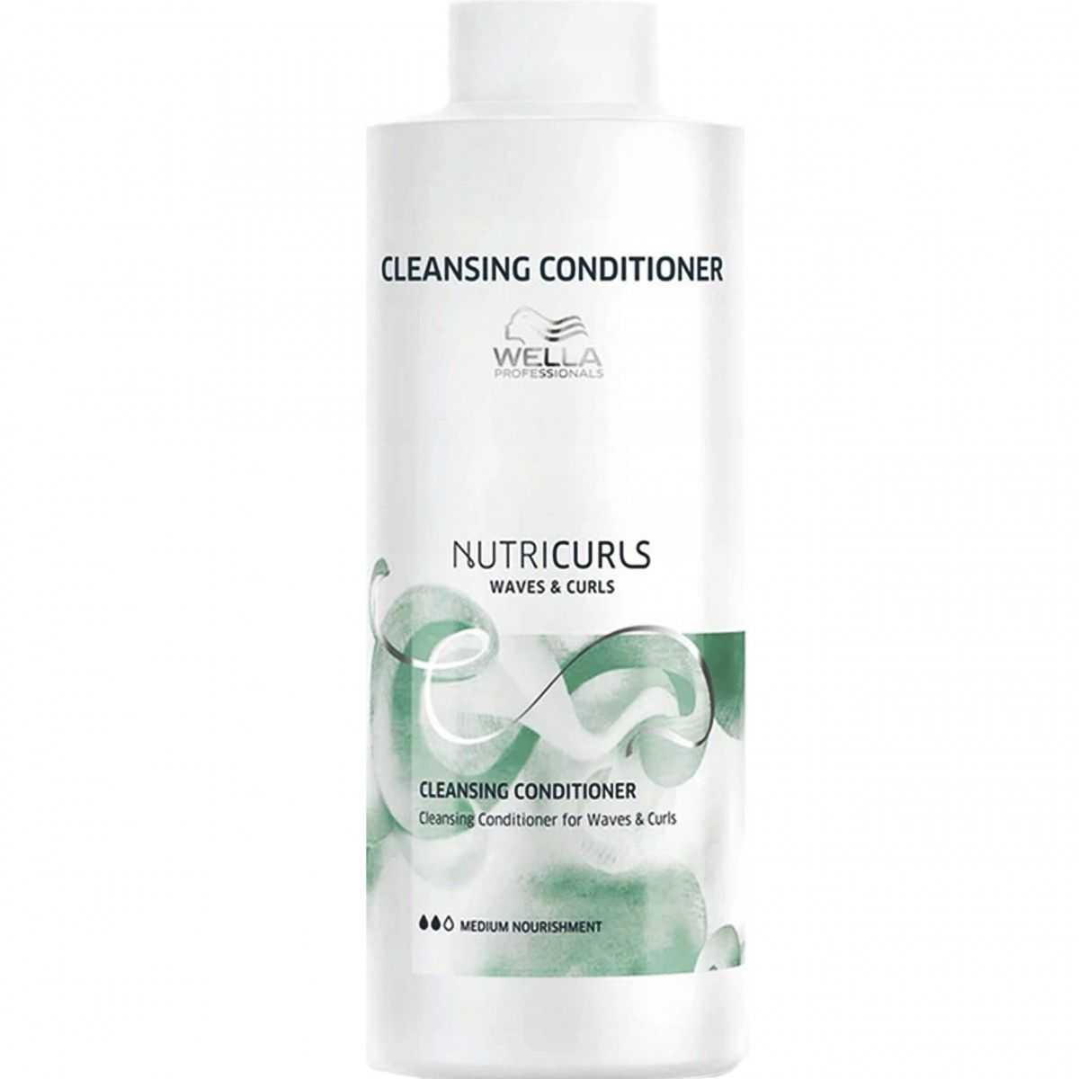 Wella Nutricurls Cleansing Condition odżywka myjąca loki i fale 1000ml