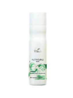Wella Nutricurls Shampoo delikatny szampon do włosów falowanych 250ml