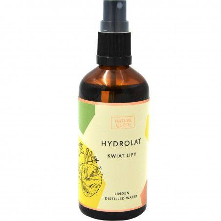 Nature Queen Hydrolat z kwiatu lipy cera wrażliwa, łagodzi i relaksuje 100ml