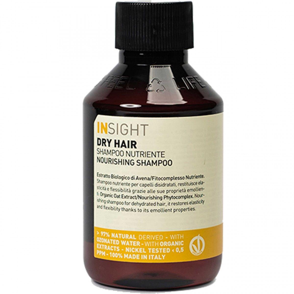 Insight Dry Hair Shampoo Odżywczy szampon do włosów suchych 100ml