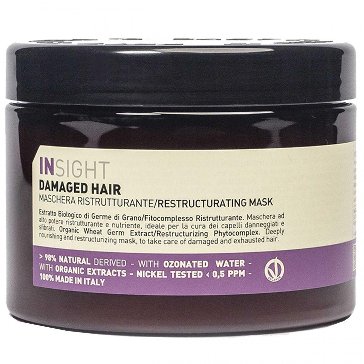 Insight Damage Hair Mask odbudowująca maska do włosów zniszczonych 500ml