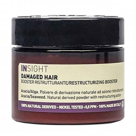 Insight Damage Hair Booster intensywnie odbudowująca kuracja do włosów zniszczonych 35g