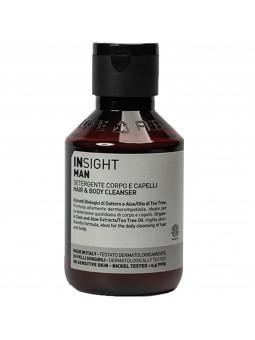 Insight Man Hair & Body Cleanser naturalny męski żel do mycia ciała i włosów 100ml