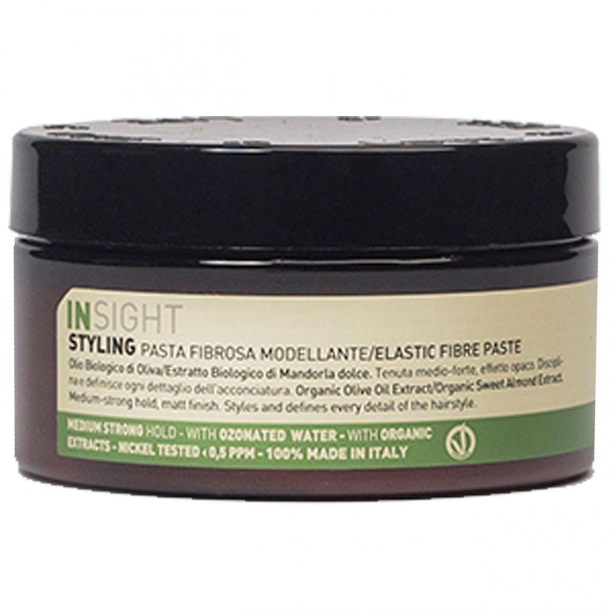 Insight Elastic Fibre Paste pasta do modelowania włosów, średnie utrwalenie 90ml