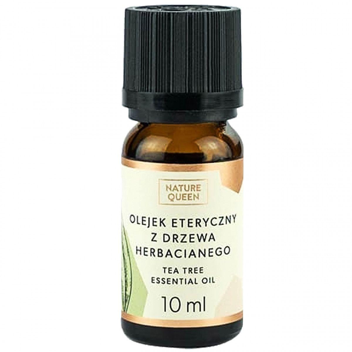 Nature Queen naturalny olejek z drzewa herbacianego, leczy trądzik 10ml
