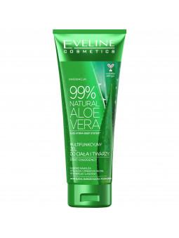 Eveline Aloe Vera Natural 99% wielofunkcyjny żel z aloesu do twarzy i ciała 250ml