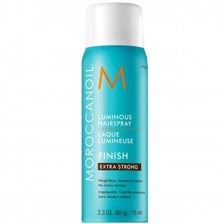 MoroccanOil Luminous Extra Strong Hair Spray szybkoschnący lakier do włosów 75ml