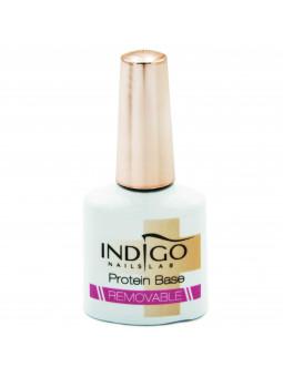 Indigo Protein Base Removable wzmacniająca baza proteinowa do łamliwych paznokci 7ml