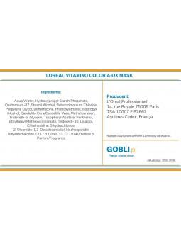 skład maski Loreal Vitamino Color pielęgnacja koloru po koloryzacji